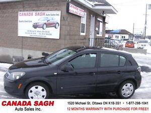 2008 Saturn Astra XE, AUTO , LOADED ..12M.WRTY+SAFETY $4490