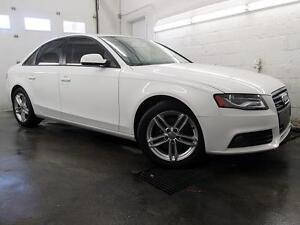 2012 Audi A4 BLANC / NOIR 2.0T Premium AUTOMATIQUE 79,900KM
