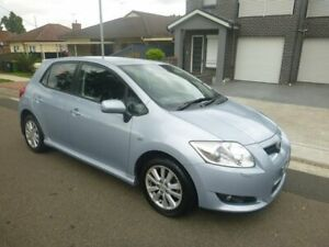 2007 Toyota Corolla ZRE152R Levin ZR Blue 4 Speed Automatic Hatchback