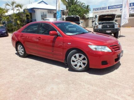 2009 Toyota Camry ACV40R MY10 Altise Red 5 Speed Automatic Sedan