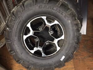 NEW Can am outlander Factory Rim/tire take offs never used
