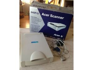 Never used Acer 640P scanner with 600x1200 dpi resolution