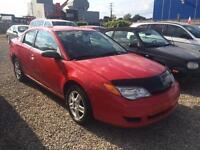 2007 Saturn Ion Quad Coupé Ion,GARANTIE 1 ANS GRATUITE