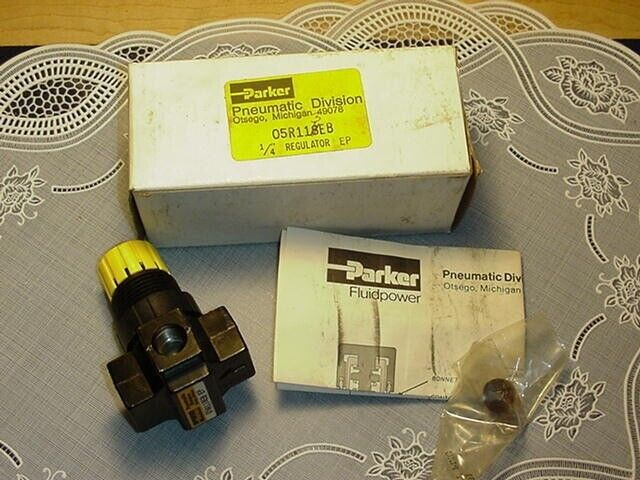 Parker Pneumatic 05R118EB 1/4 Inch Regulator NEW IN BOX!