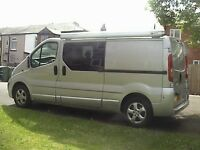 2012 VIVARO LWB SPORTIVE UNFINNISHED DAY RACE VAN CONVERSION