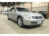 2003 Infiniti G35 Sedan Luxury AS-IS