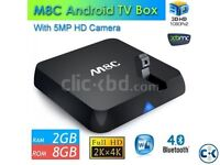 M8C Tv Android box.  Also have M8 and M8Q