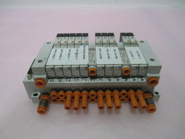 SMC US4800 Pneumatic Manifold, 2 VVQ1000-P-1-N7, 415586