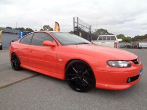 2002 Holden Monaro V2 CV8 Orange 6 Speed Manual Coupe Pooraka Salisbury Area Preview