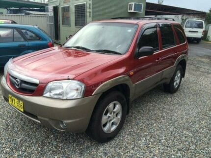 2003 Mazda Tribute Classic Red 4 Speed Automatic 4x4 Wagon Jewells Lake Macquarie Area Preview