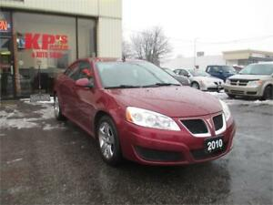 2010 PONTIAC G6 ONLY 115,000KMS!!!!!