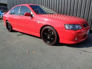 2003 Ford Falcon BA XR6 Red 4 Speed Auto Seq Sportshift Sedan Chifley Woden Valley Preview