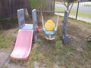 KIDS PLAYGROUND SLIDE and SWING - garden outdoor play Noble Park Greater Dandenong Preview