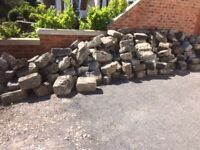 Granite Landscaping Stones - Collection Only