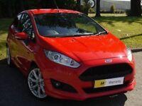 STUNNING** (63) Ford Fiesta 1.0 EcoBoost Zetec S (s/s) 3dr £0 DEPOSIT FINANCE** FREE ROAD TAX