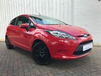 Ford Fiesta 1.25 Style, 3 Door, Lovely Low Mileage Example, Stunning in Red, Perfect First Car