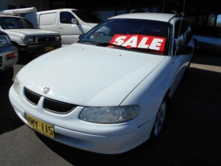 1998 Holden Commodore VT Executive White 4 Speed Automatic Wagon Bankstown Bankstown Area Preview
