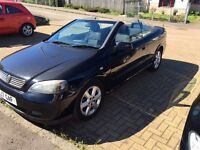 Vauxhall Astra Convertible for sale 2004.