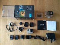 GoPro Hero 3+ Black Edition with extras