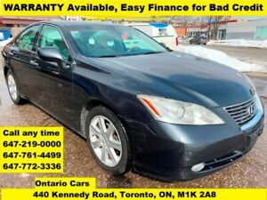 2007 Lexus ES 350 Finance Approved 3-Years WARRANTY AVAILABLE