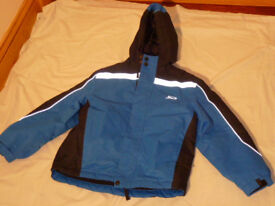 Crane Trail Blue Outdoor Coat Walking Camping - Size 9 Years