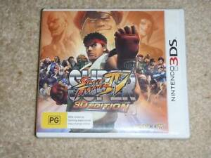 Nintendo 3DS game Street Fighter Bulli Wollongong Area Preview
