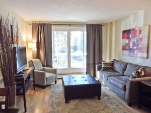Downtown Executive Furnished Condo - Weekly Clean & Groceries!
