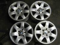 BMW Alloy Wheels 7Jx15 5 Stud.