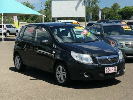 2011 Holden Barina TK MY11 Black 5 Speed Manual Hatchback Wacol Brisbane South West Preview