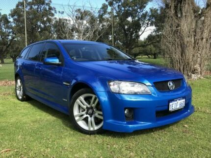 2009 Holden Commodore VE MY09.5 SS Sportwagon Blue 6 Speed Sports Automatic Wagon