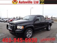 2004 Dodge Ram 1500 SLT LEATHER RIMS TONNEAU COVER $6988