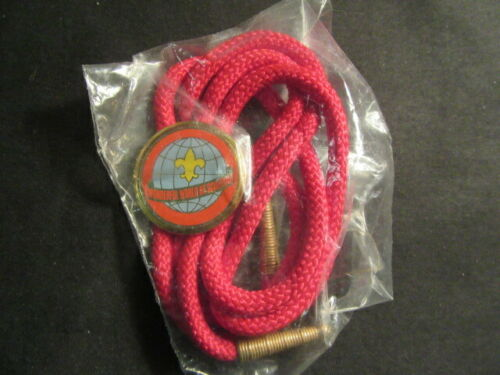 Wonderful World of Scouting Bolo Tie      c91