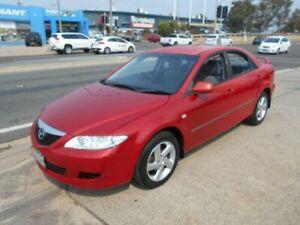 2005 Mazda 6 GG1031 MY04 Classic Red 5 Speed Manual Sedan