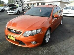 2011 Ford Falcon FG MkII XR6 Orange Sports Automatic Sedan Mudgee Mudgee Area Preview