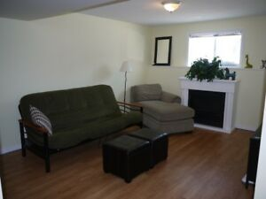 Beautiful All Inclusive Furnished West End Basement Apartment