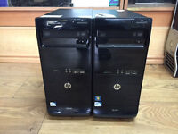 HP Pro 3400 Series MT Pentium dual 2.70GHz 4GB RAM 250 HDD Win 7 or 8 PC