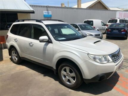 2012 Subaru Forester MY12 2.0D White 6 Speed Manual Wagon Mount Hawthorn Vincent Area Preview