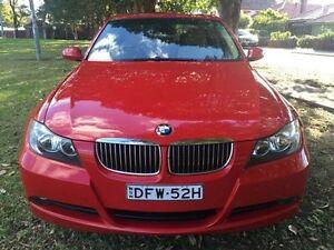 2005 BMW 325I Red Automatic Sedan Croydon Burwood Area Preview