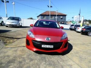 2012 Mazda 3 BL 11 Upgrade Neo Red 5 Speed Automatic Sedan Five Dock Canada Bay Area Preview