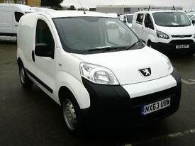 Peugeot Bipper 1.3 HDI 75S + (NON START STOP) DIESEL MANUAL WHITE (2013)