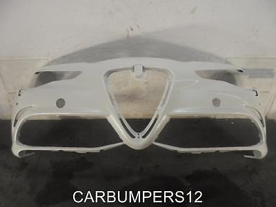ALFA ROMEO GIULIA QUADRIFOGLIO FRONT BUMPER 2017 ONWARDS GENUINE ALFA PART A4