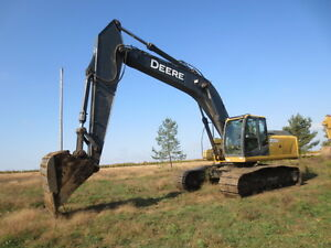 REALLY NICE JOHN DEERE EXCAVATOR WORK READY