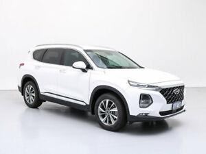 2019 Hyundai Santa Fe TM Elite CRDi Satin (AWD) White Cream 8 Speed Automatic Wagon Jandakot Cockburn Area Preview