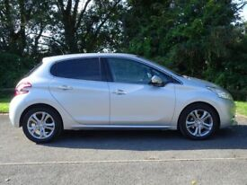 PEUGEOT 208 1.4 ALLURE HDI 5d (silver) 2014
