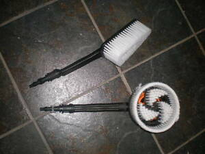 Two Brandnew Pressure Washer Brushes