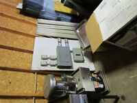 two 60 amp breaker/distribution panels and heavy cab tire/wire