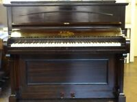 W.J. Payne upright, in dark mahogany case, fully reconditioned, and repolished with 3-year guarantee