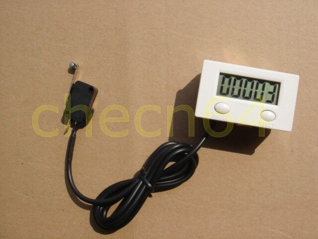Digital Electronic Counter Punch Counter With Microswitch Reset Pause 5 Numbers