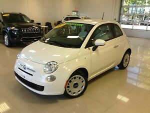 2013 FIAT 500 Pop GARANTIE PROLONGÉE, BLUETOOTH, GR ELECTRIQUE