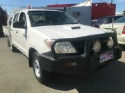 2008 Toyota Hilux KUN16R 08 Upgrade SR White 5 Speed Manual Dual Cab Pick-up Southport Gold Coast City Preview